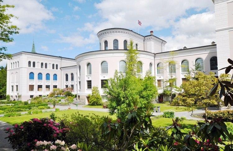 Universitetsmuseet i Bergen med De Naturhistoriske Samlinger. Foto.