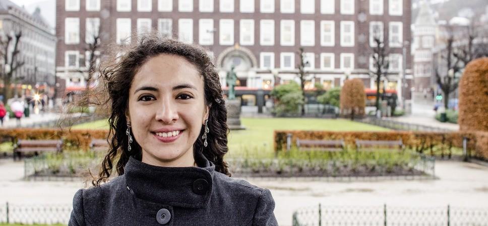 Erika in Byparken Bergen